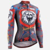Fixgear CS-W1101 Womens Cycling Jersey Long Sleeves