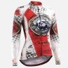 Fixgear CS-W501 Womens Cycling Jersey Long Sleeves