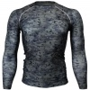 Btoperform Camo Black Full Graphic Compression Long Sleeve Shirts FX-111K
