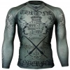 Btoperform Throne Khaki Full Graphic Compression Long Sleeve Shirts FX-142H
