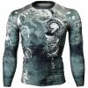 Btoperform Pyrrhic Full Graphic Compression Long Sleeve Shirts FX-152