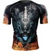 Btoperform Hell Fire Full Graphic Compression Short Sleeves Shirts FX-320