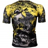 Btoperform Raven Skull Full Graphic Compression Short Sleeves Shirts FX-325