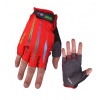 Havik Challenger Half Finger Gloves Red