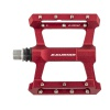 Pedal Platform BMX CNC Body W/Grip Pins Sealed Red Exustar