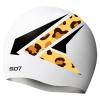SD Eagle White Silicon Swimming Cap