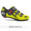 Sidi Genius5 Fit Road Bike Cycling Shoes Black Yellow Fluo