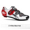 Sidi Genius5 Fit Road Bike Cycling Shoes White Black Red