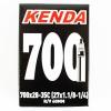Kenda 700/28-35 Presta 60M (27X1.1/8-1/4)Removable Core Tube