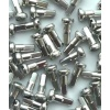 Wheel Smith Alloy Silver Nipple 2.0x12mm 50pcs