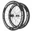 Knight Composites 65W-Dt Swiss 240s Carbon Clincher Rear Wheelset- 700c white