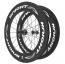 Knight Composites 95W-Dt Swiss 240s Carbon Clincher Rear Wheelset- 700c White