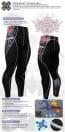 Fixgear Baselayer Compression Pants Tights P2L-30-USG
