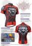 Fixgear Bicycle Cycling Mens Jersey Short Sleeves CS1302