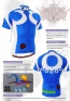 Fixgear Bicycle Cycling Mens Jersey Short Sleeves CS2602