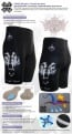 Fixgear Bicycle Tight Shorts Cycling Silica Gel Padded ST18