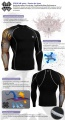 Fixgear Compression BaseLayer Skin Tight Shirt CP-B27