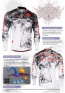 Fixgear Mens Bicycle Jersey Cycling Long Sleeves CS2101
