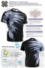 Fixgear RM-5902 Round T-Shirts Sports Active Mens Short Sleeves